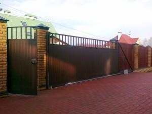 откатные автоматические ворота Щелково