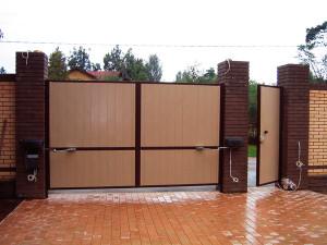 распашные ворота Щелково