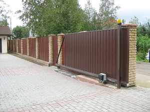 автоматические откатные ворота Щелково