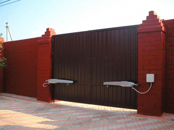 автоматические распашные ворота Щелково