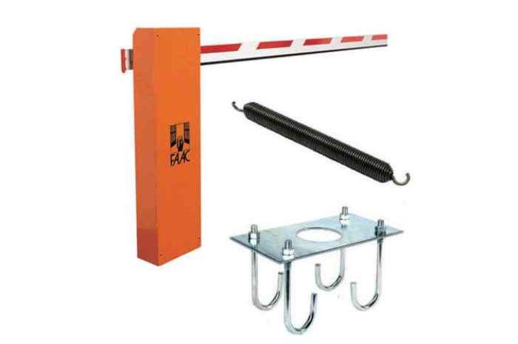 Faac 615/4 BPR гидравлический шлагбаум стрела 4 м, базовый комплект