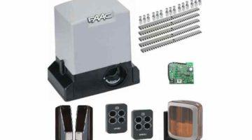 FAAC 741 FULL полный комплект привода для откатных ворот