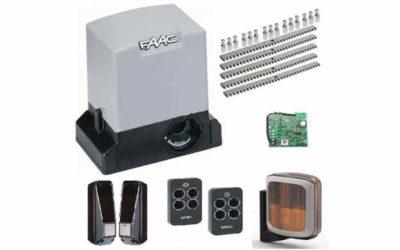 FAAC 740 FULL полный комплект привода для откатных ворот