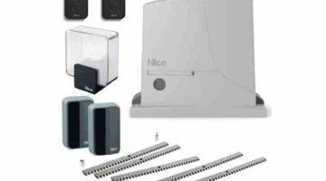 NICE ROX600KLT FULL полный комплект привода для откатных ворот