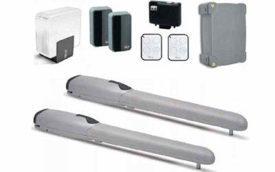 NICE WINGO5BDKCE комплект автоматики для распашных ворот
